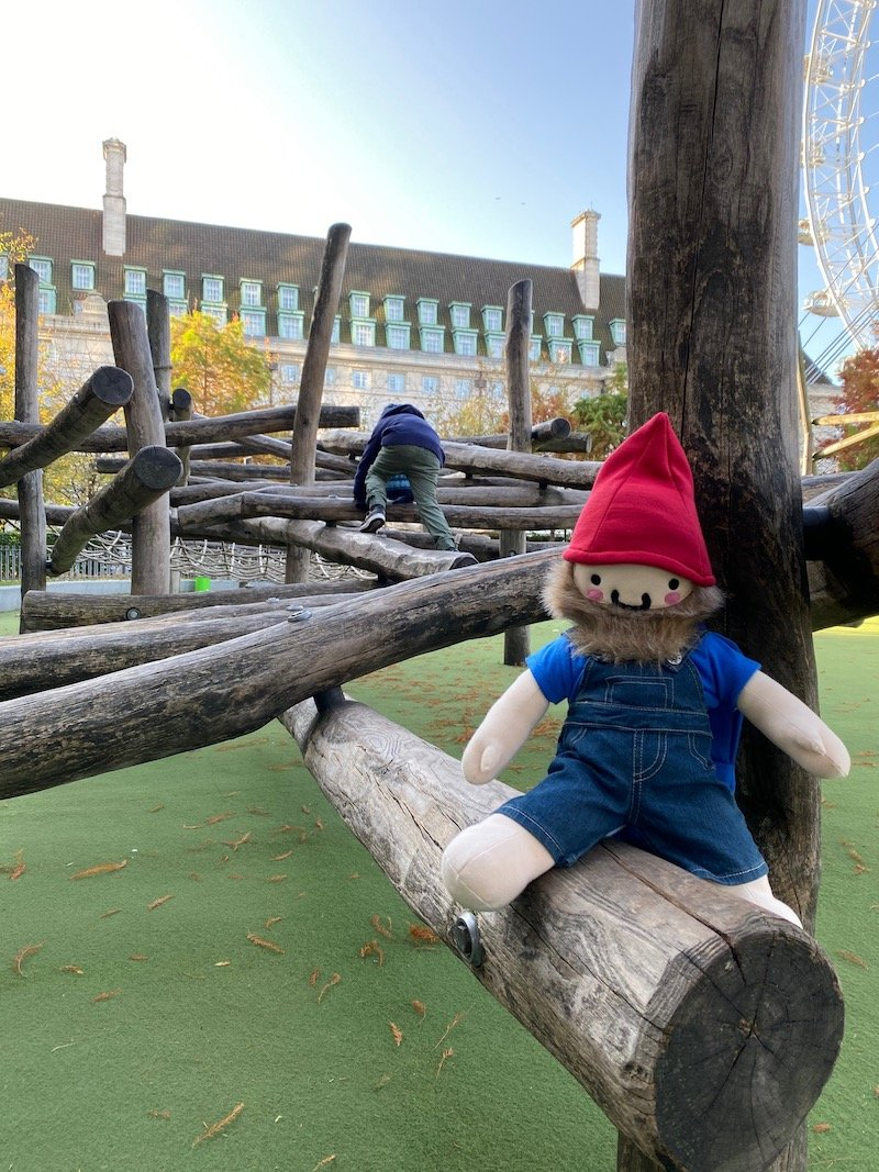 image - roam the gnome at jubilee gardens playground
