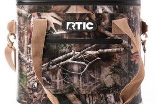 image - rtic brown soft cooler bag