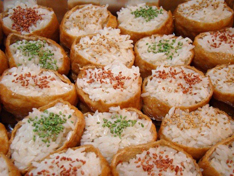 inari platter pic by vegan feast catering