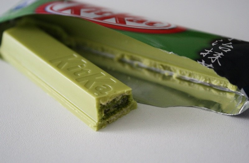 japanese chocolate kitkat green tea by mira pangkey