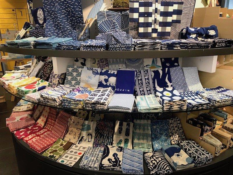 japanese furoshiki cloths for bento boxes