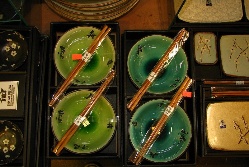japanese tableware chopsticks by good night might