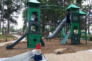knox park murwillumbah playground fort view pic