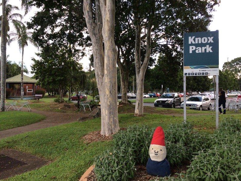 knox park murwillumbah playground sign pic