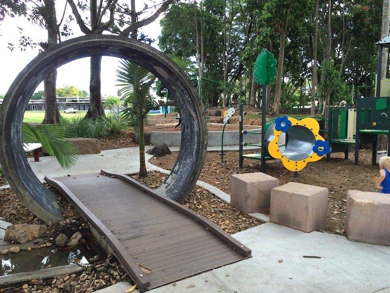 knox park murwillumbah playground tunnel pic