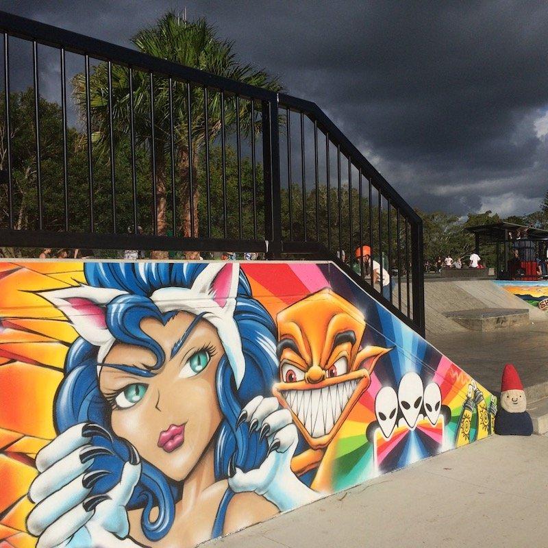 knox park precinct skate park