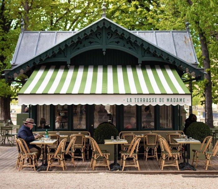 la terrasse de madame jardin du luxembourg gardens pic