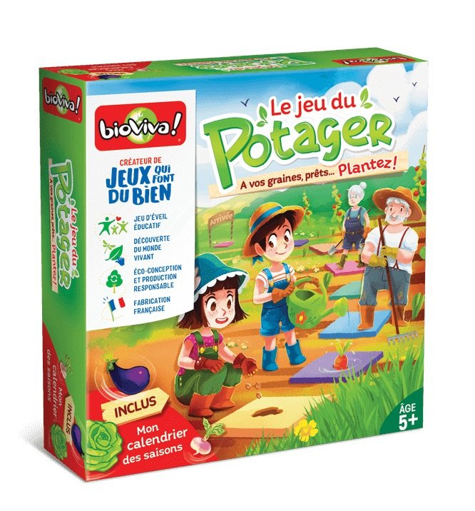 le potager game by bioviva