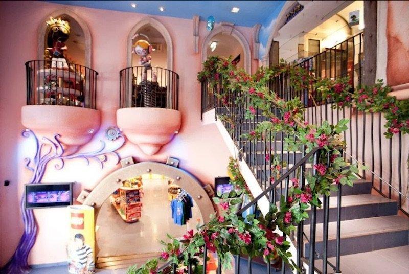 little big town rome toy shop entrance