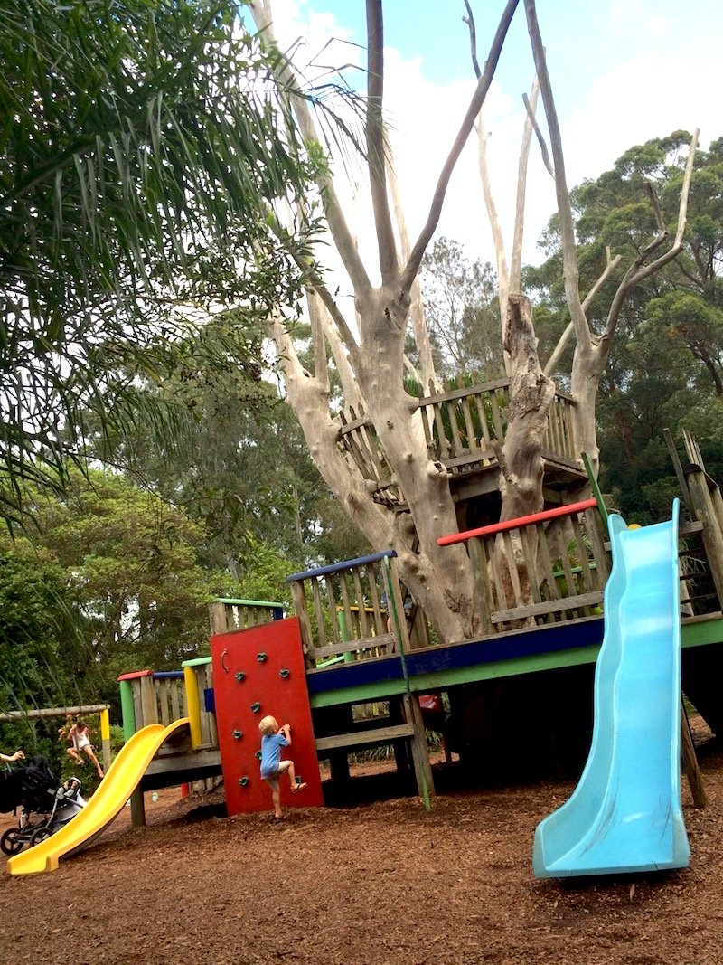 macadamia castle playground pic