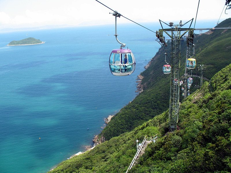 ocean park cable car view pic by denise chan