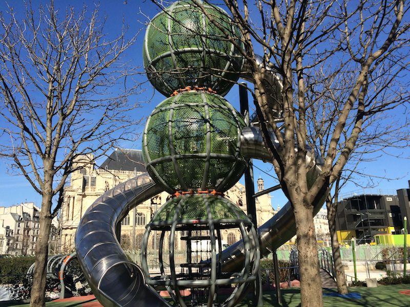 paris playgrounds - terrain d'aventures spaceship pic