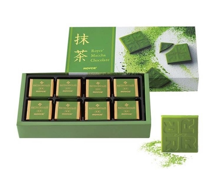 royce matcha chocolates 1