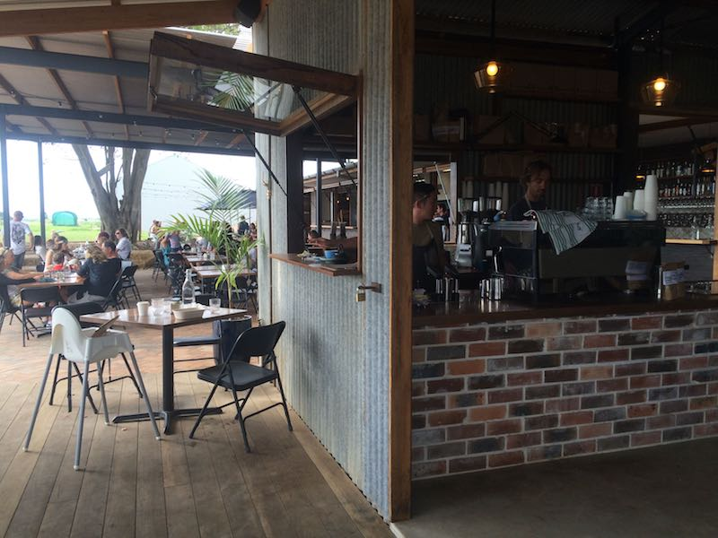 the bread social counter at the farm byron bay pic