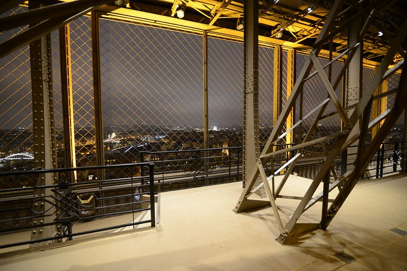 view of eiffel tower iron structure by jorge lascar flickr