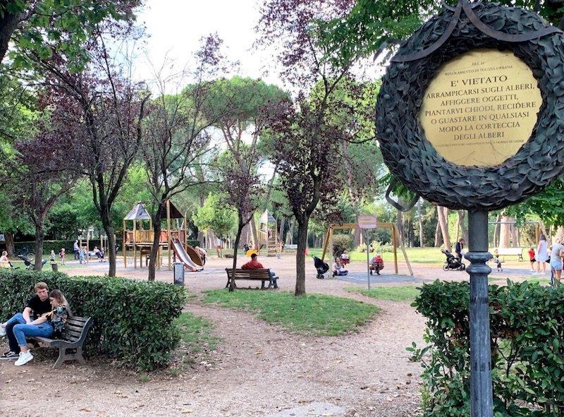 villa borghese playground by michael mcroberts