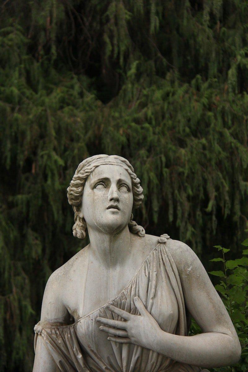 villa borghese statue by antonia-felipe