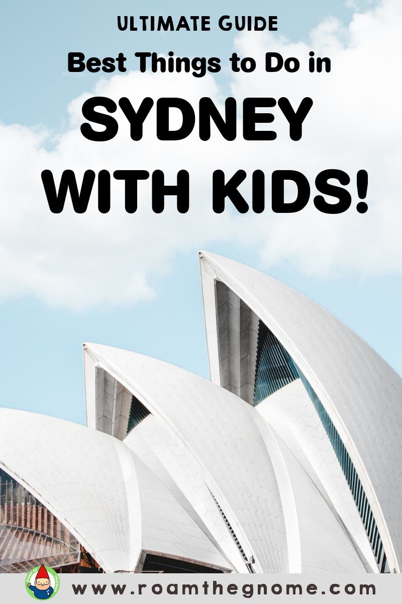 PIN best things to do in sydney with kids