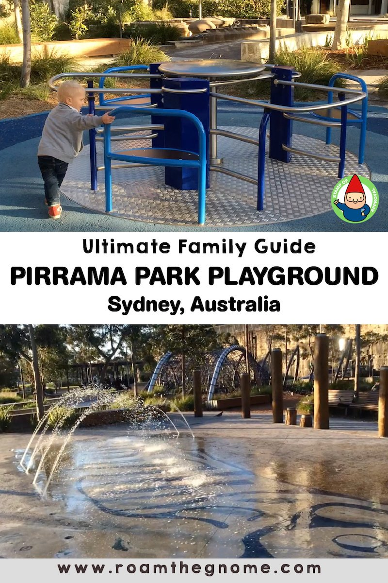 PIN pirrama park playground