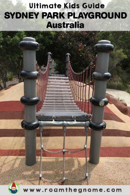 PIN sydney park playground