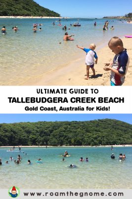 ULTIMATE GUIDE TO TALLEBUDGERA BEACH GOLD COAST FOR KIDS