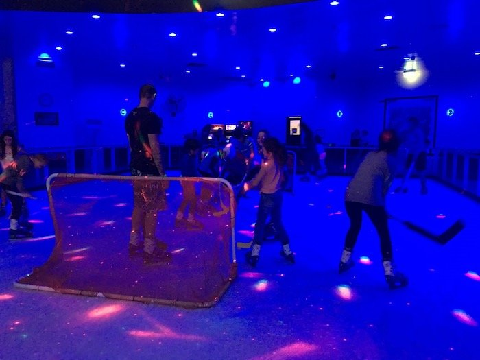 Planet Chill Ice Skating Surfers Paradise QLD games pic