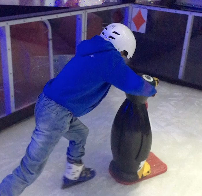 Planet-Chill-Ice-Skating-Surfers-Paradise-penguin-helper