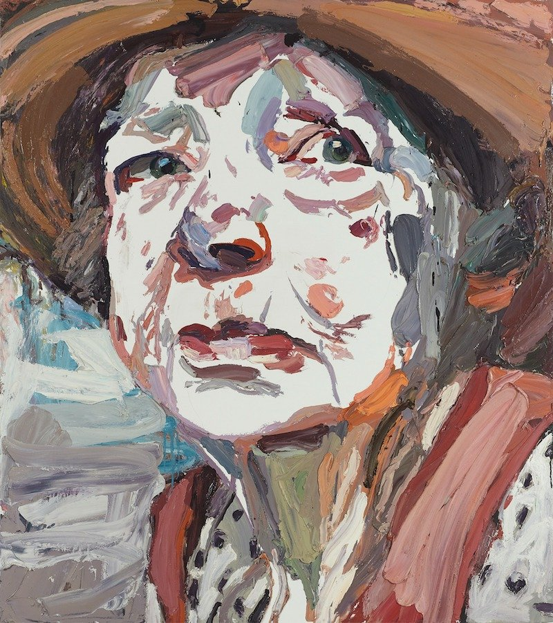 ben quilty painting of margaret olley pic