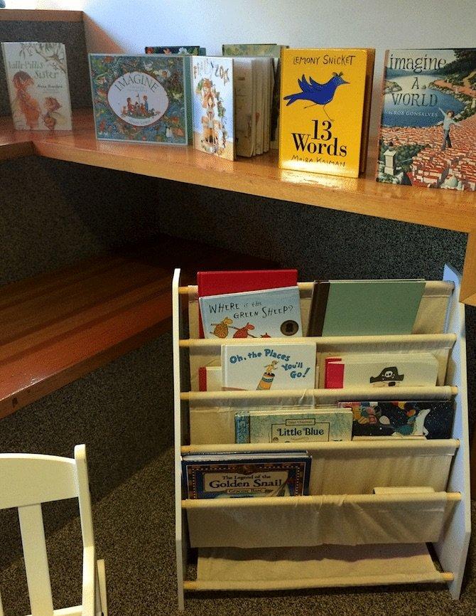 brisbane-state-library-kids-corner-book-selection