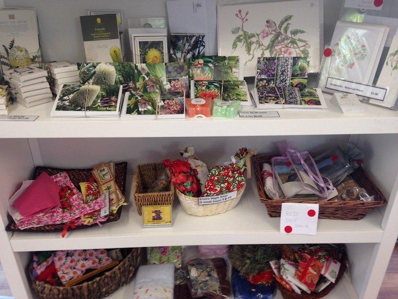 friends of the gold coast regional botanic gardens shop
