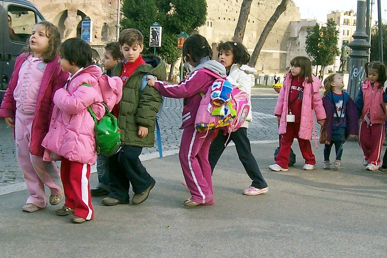 group of kids by alan kotok