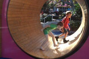 image - riverside green playground hamster wheel