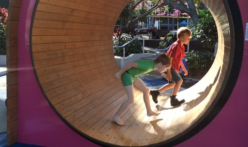 image - riverside green playground hamster wheel