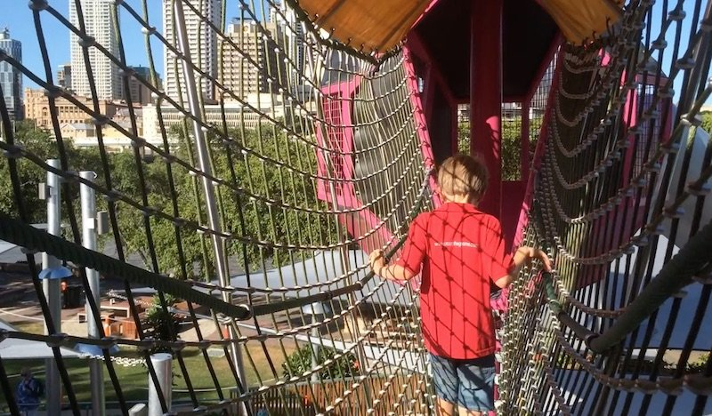 image - riverside green playground nets pic