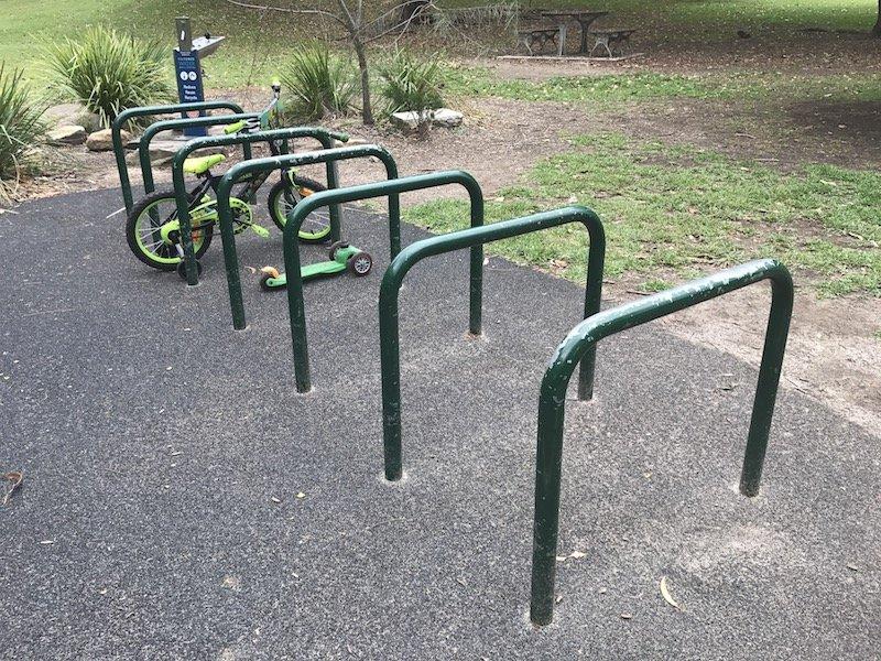 photo - Brightmore Reserve Kids Bike Park_bike racks