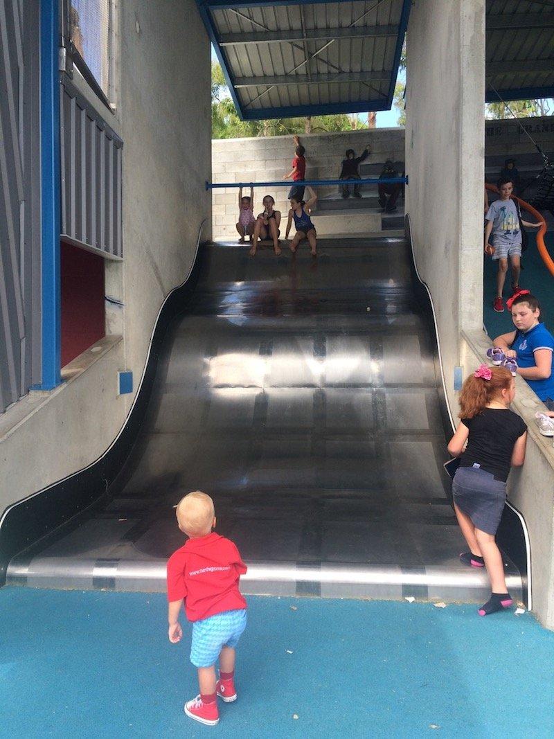 photo - frew park milton playground Frew Park Milton 3m slide