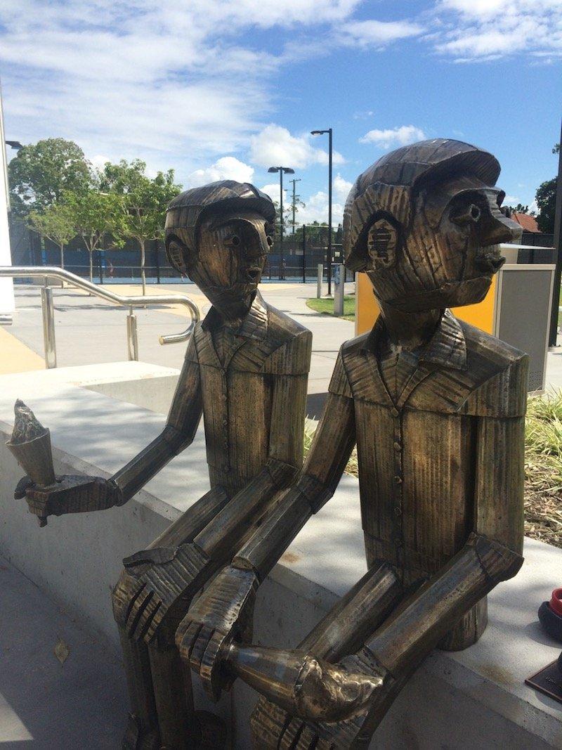 photo - frew park milton playground Frew Park Milton sculpture