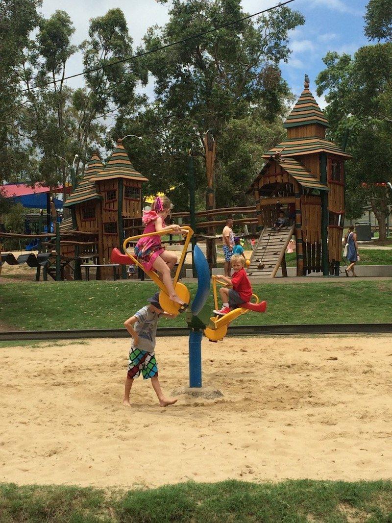 photo - funderwood hollow playground bicycle ride