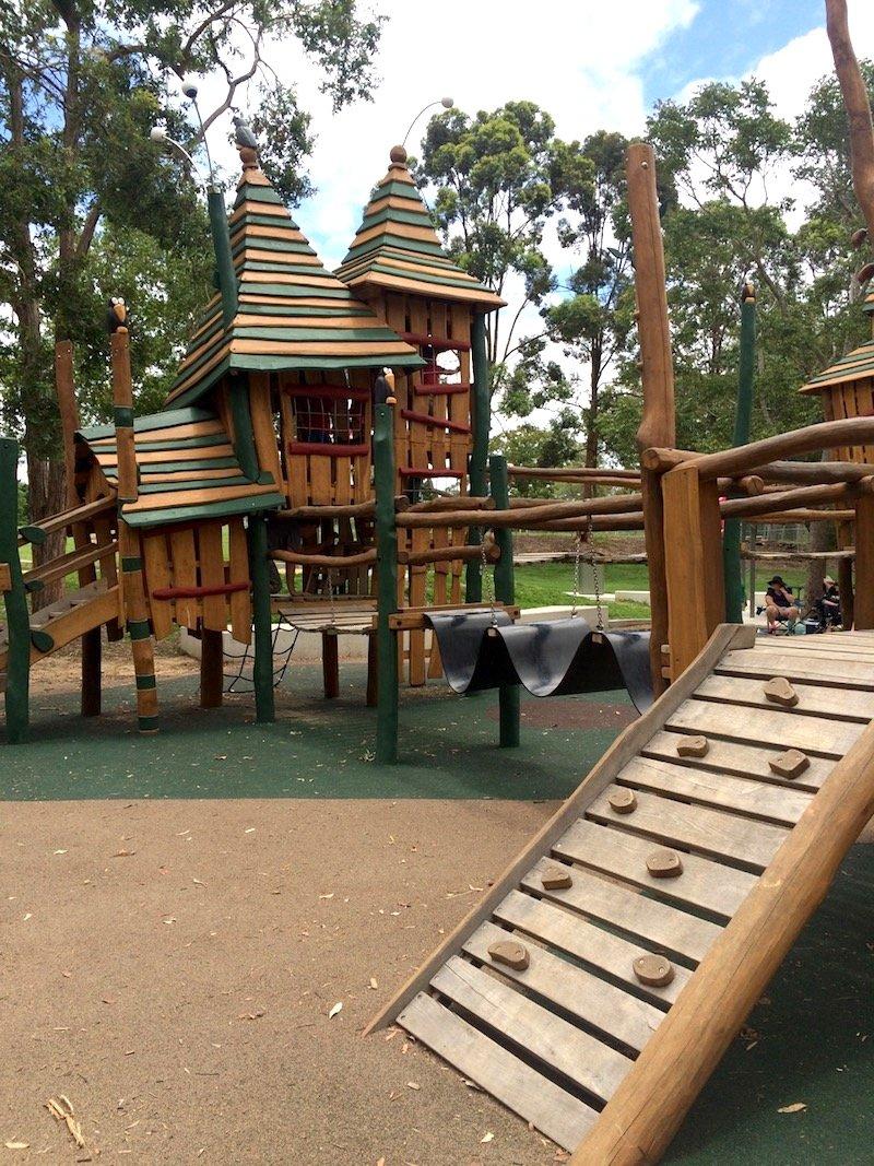 photo - funderwood hollow playground brisbane qld