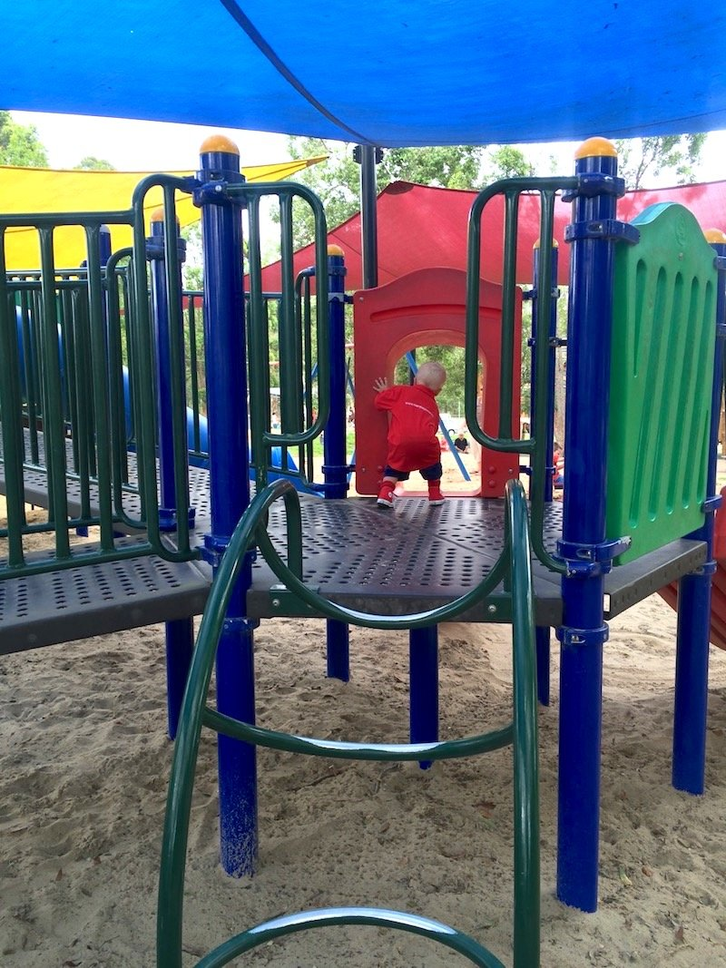 photo - funderwood hollow playground fort