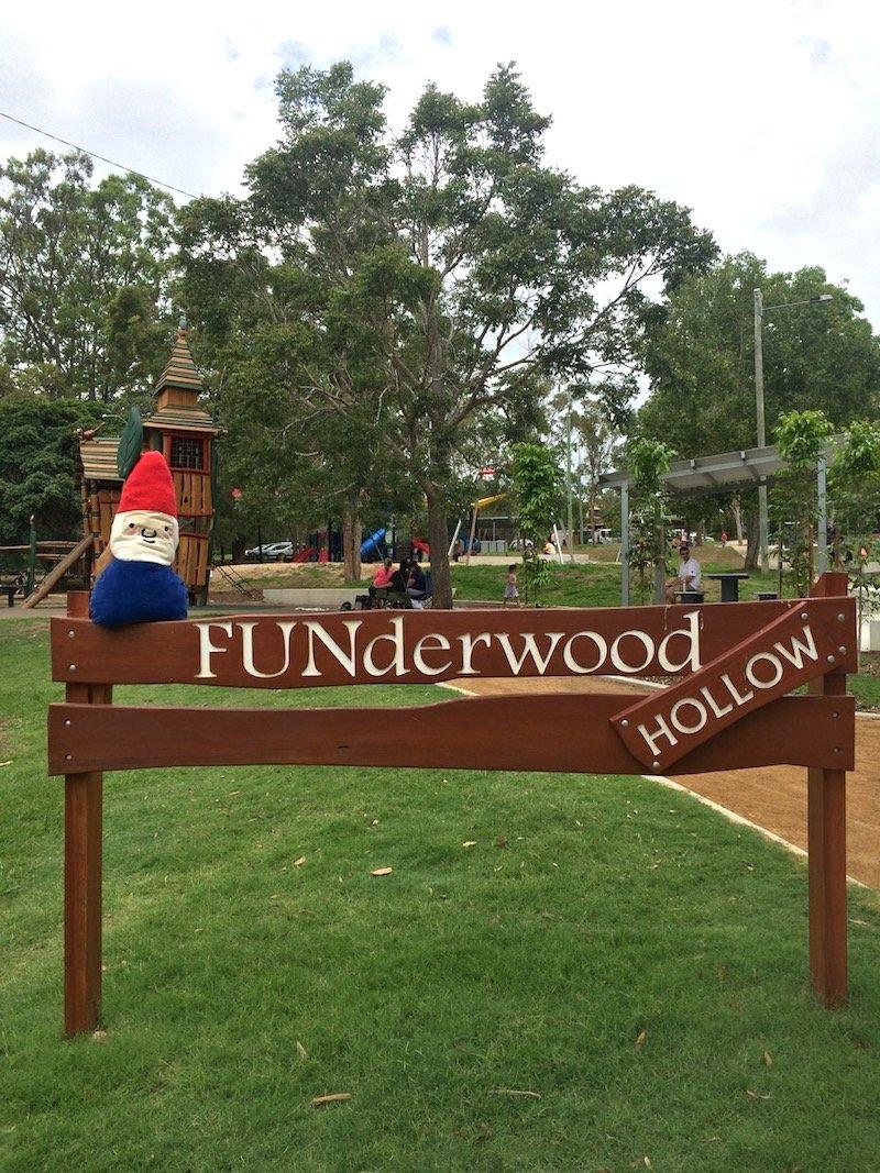 photo - funderwood hollow playground sign