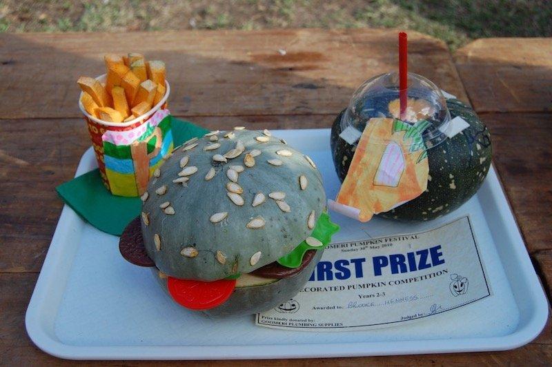 photo - goomeri pumpkin festival prizes