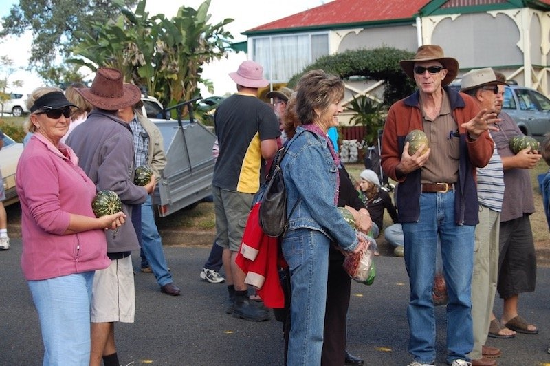 photo - goomeri pumpkin festival race