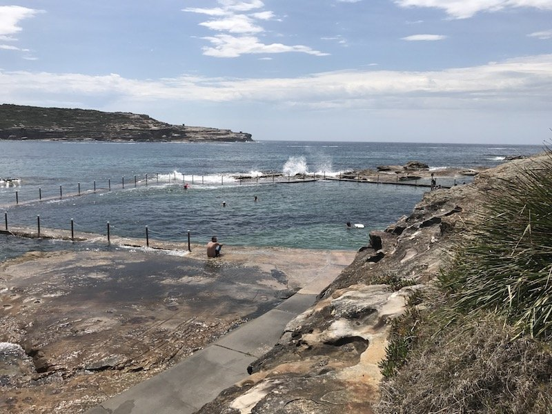 photo - malabar rock pool view