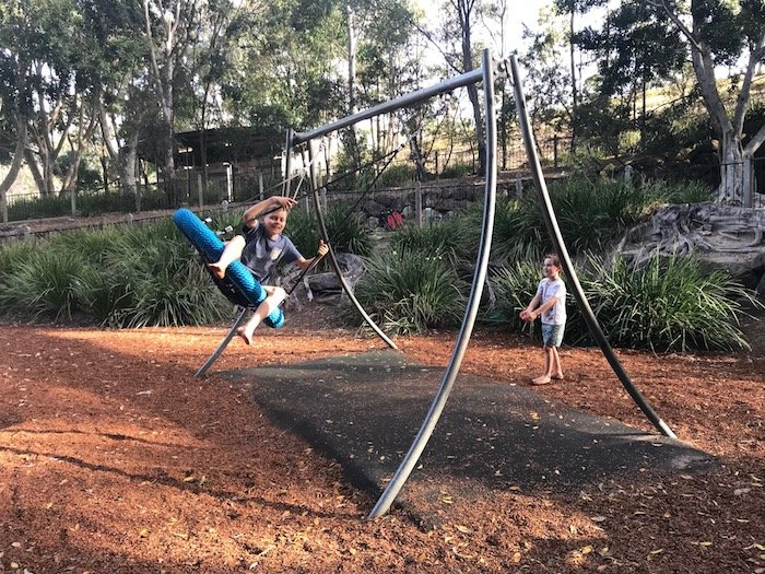photo - parklake park maudsland swings