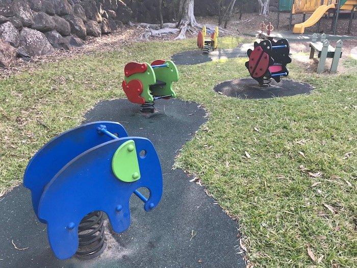 photo - parklake playground toddler rockers