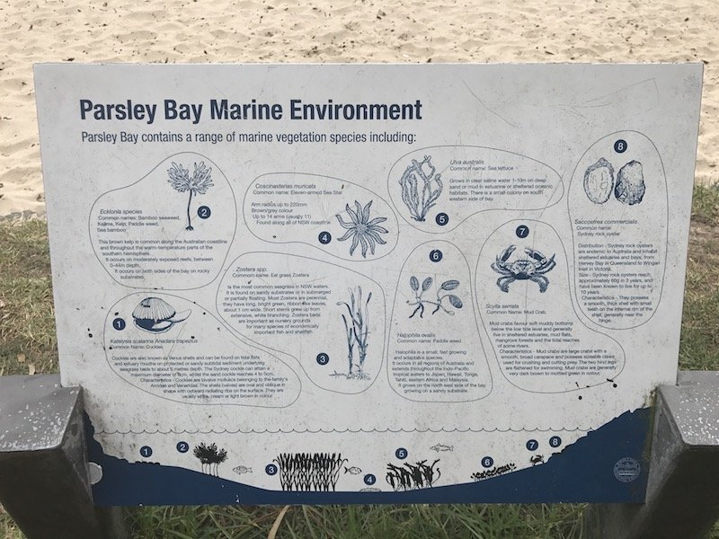photo - parsley bay map