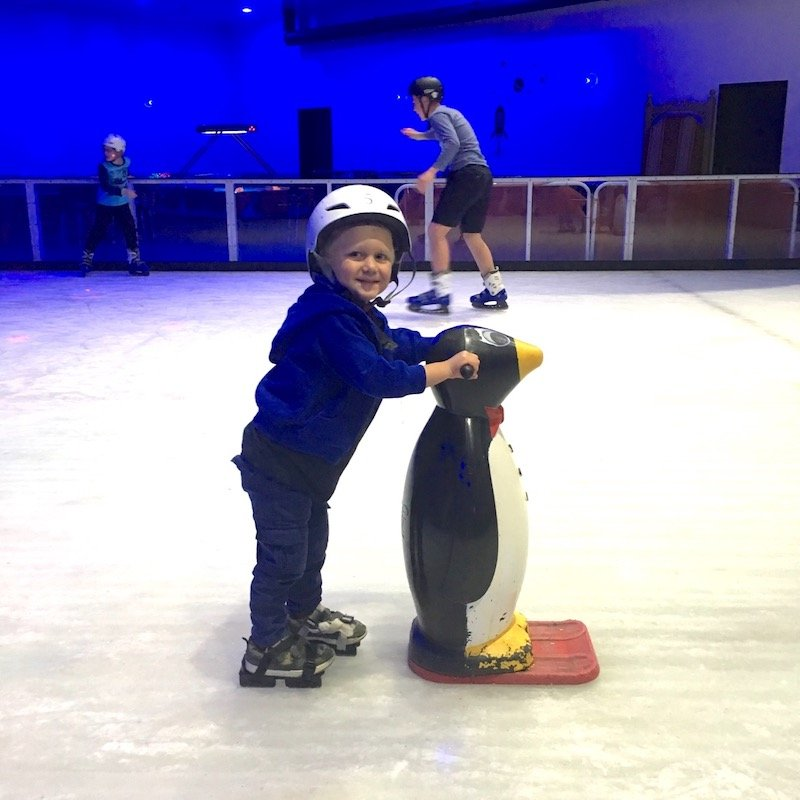 photo - planet chill ice skating rink for toddlers