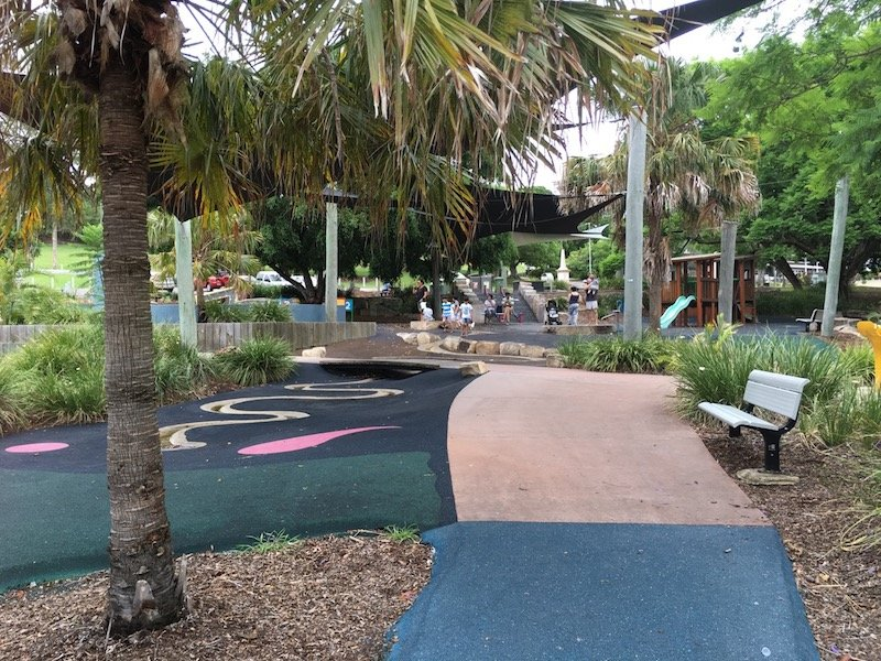 photo - queens park playground for toddlers