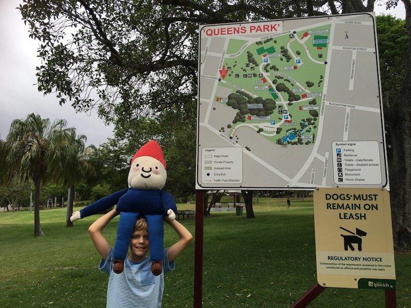 photo - queens park playground map